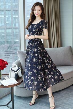 Chiffon Floral Fairy Dress