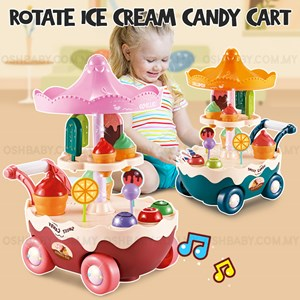 ROTATE ICE CREAM CANDY CART