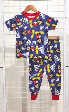 SIZE 2 KIDS Pyjamas MICKEY ADIDAS BLUE (IKIDS)