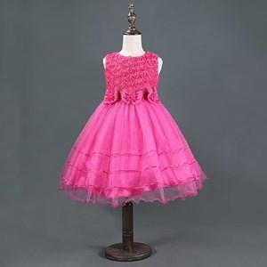 Sleeveless Bowknot Flora Princess Dress