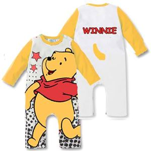 @  H043-C   POOH YELLOW  ROMPER ( SIZE 90 )