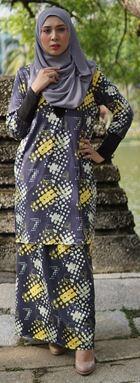 Baju Kurung Melissa (KM102) - SizeXS, S, M, XL available