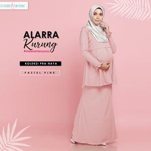 Alarra Kurung - Pastel Pink (Pre Order : 3nd Batch)