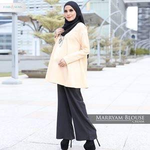 Maryam Blouse - Cream