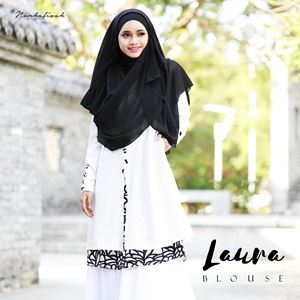 LAURA BLOUSE - MAIN WHITE