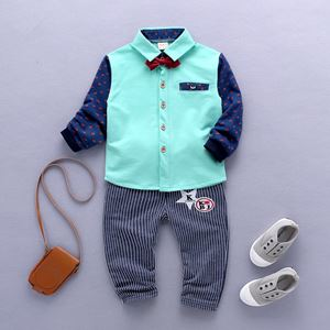 KOREAN BOY SET 4  ( GREEN )