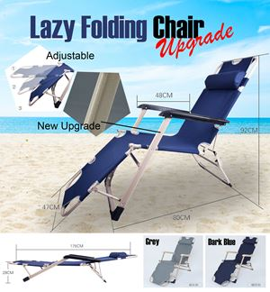 Lazy Folding Chair ( Upgrade besi petak)