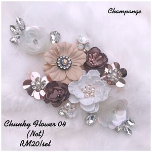 Chunky Flower 04