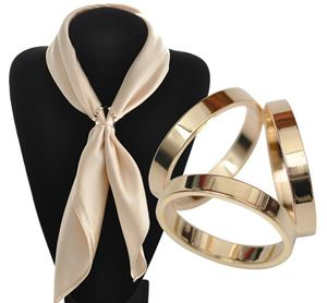 Scarf Buckle Rings - 01