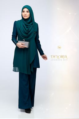 DY'LORIA LUXURIOUS SUIT (EMERALD)
