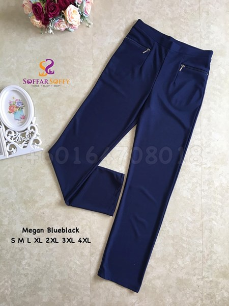 MEGAN PANTS BLUEBLACK