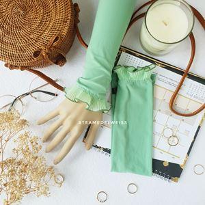 Handsock Maira- PALE GREEN