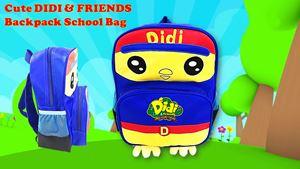 Cute DIDI & FRIENDS Backpack School Bag