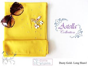 Astella Handcrafted Shawl (DUSTY GOLD)