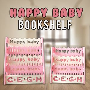 HAPPY BABY BOOKSHELF