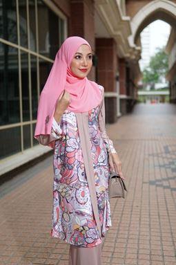 Baju Kebarung Jameela (KJ105) - Koleksi Raya 2019
