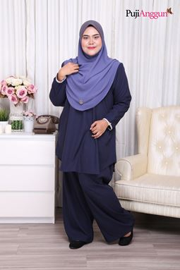 MARISSA SUIT - BLUE BLACK