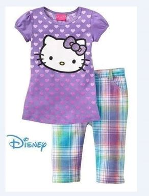 @  P30337 KITTY PURPLE SET ( DEFFECTED )