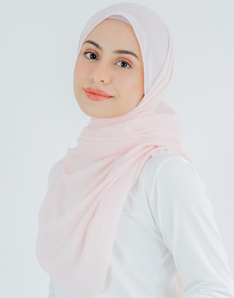JENNA BASIC SHAWL IN PINK MELON