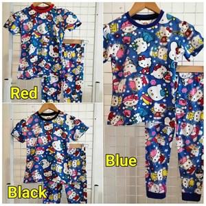 Pyjamas HELLO KITTY FANTASY (Brand HRZ) : Kids Size 2/3 hingga 8/9