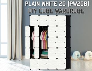 Plain White 20C DIY Wardrobe (PW20B)