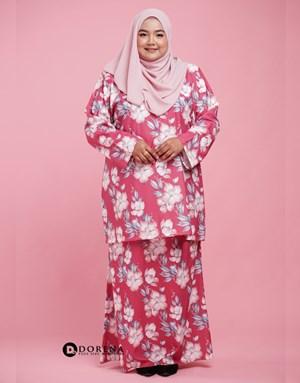 Kurung Nadeeya (Pink)