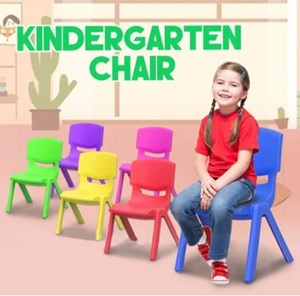 Kindergarten Kids Study Chair 28cm Seat Height