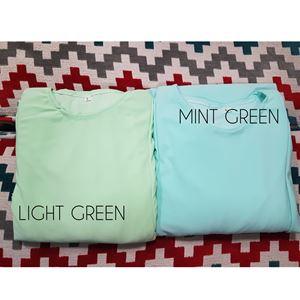 Kids Kurung Arrini (Mint Green) S, L, XL