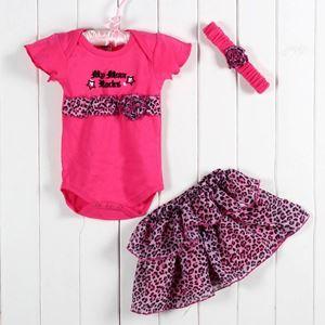 Pink Rocks - Romper+Tutu skirt