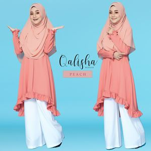 BLOUSE QALISHA - PEACH