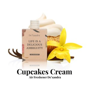 CUPCAKE & CREAM AIR FRESHENER - 10ML