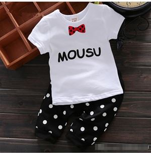 @  16067 - WHITE MOUSE SET ( SZ 90 - 130 )