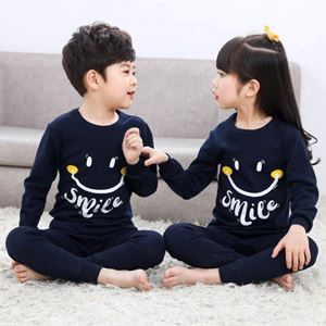 @  Unisex Korean Sedondon Pyjamas ( SMILE BLUE  ) SZ  2Y-9Y