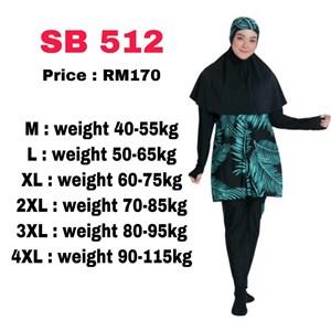 Baju Renang Muslimah SB 512