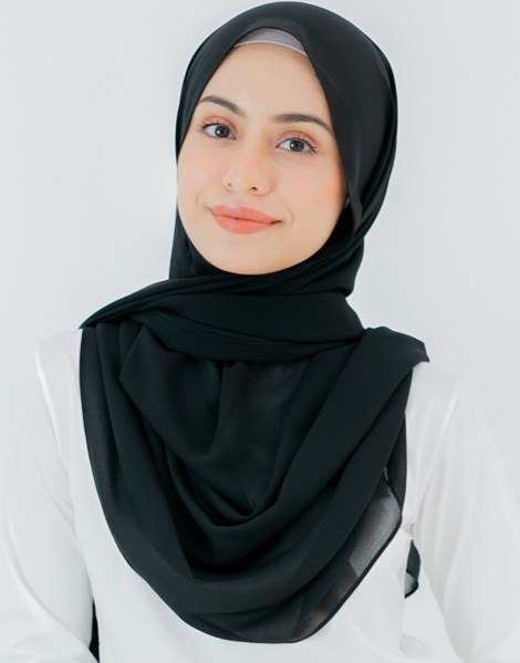 JENNA BASIC SHAWL IN BLACK
