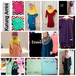 KURUNG ARRINI ( MULTI-COLOR, XS TILL XL)