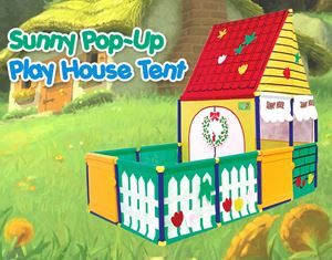 SunnyCat Pop-Up Play House Tent