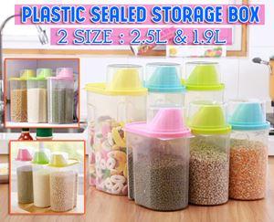 PLASTIC SEALED STORAGE BOX (2.5L)