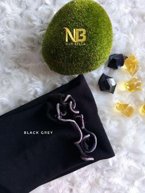 LUNA - BLACK GREY