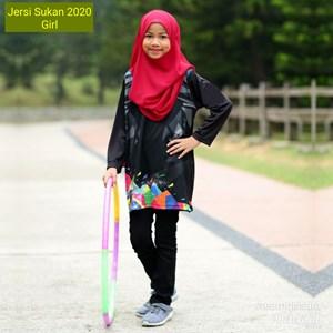 Jersi Sukan 2020 - GIRL, XS - 2XL