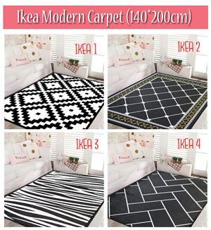 IKEA MODERN CARPET (140*200cm)