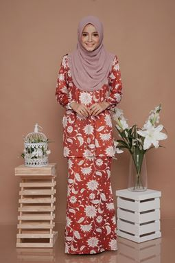 SALE -Diva Mini Kurung (DV210) - Nursing + Maternity (2XL)