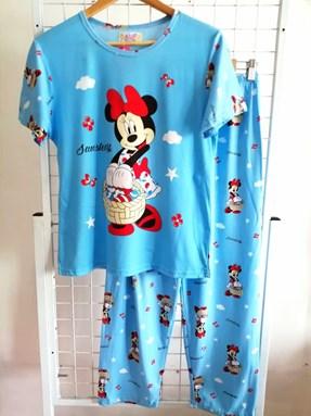 Pyjamas Dewasa Blue Minnie Sunshine