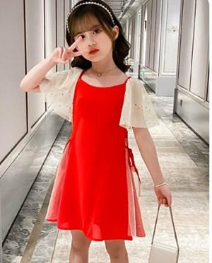 Short Sleeve Little Star Cute Dress