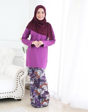ARIANI BATIK - PURPLE