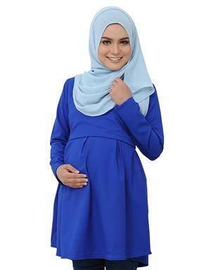 Alarra Blouse - Royal Blue