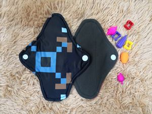 Cloth Pad - Modern (Constructive) Size S