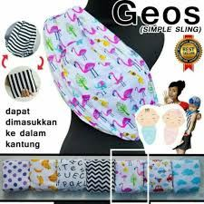 SIMPLE SLING CARRIER GEOS MOTIF