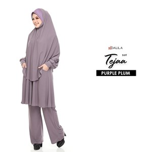 SUIT TEJA (PURPLE PLUM)