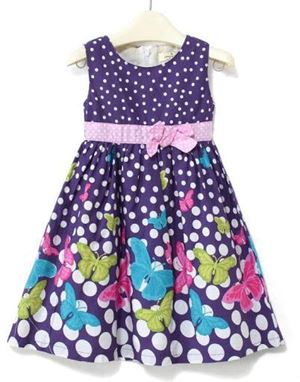 @  G029/13 JUMPING BEANS PURPLE BUTTERFLY ( SIZE 4Y-10y )
